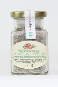 Butterwürze Knoblauch Tomate